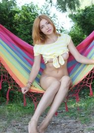 Hairy Blond Kika By Metart #13