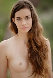 Teen Tali Dova with her small boobs #9