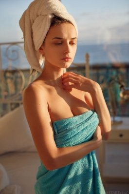Metart Gloria Sol after shower