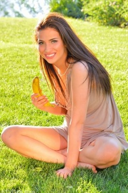 FTV Girl Olivia naked on the grass