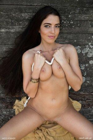 Pale Sexy Brunette Bree H By Femjoy